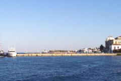 An der Mole vor dem Fährhafen