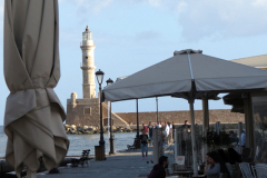 Chania-Hafen-Cafe