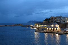 Chania-Hafen-Nacht