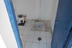 Die WCs und Duschen sind nicht sehr gepflegt