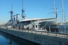 Floating Naval Museum Battleship Averof...