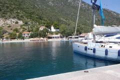 Der Badestrand im Hafen