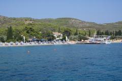 Die Bucht  Anargiri im Süden der Insel