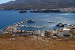 Der Hafen im Norden der Bucht