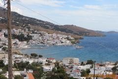 Ort und Hafen aus dem Westen