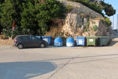 Mülltrennung bei den Liegeplätzen