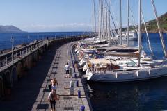 ... der Porto Turistico von innen.