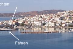 Hafen und Ort aus dem Norden